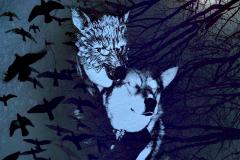 Wolf in the wood_gaelleB